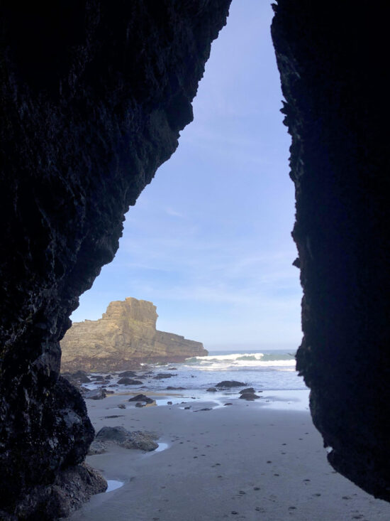 Cooks Beach Cave
