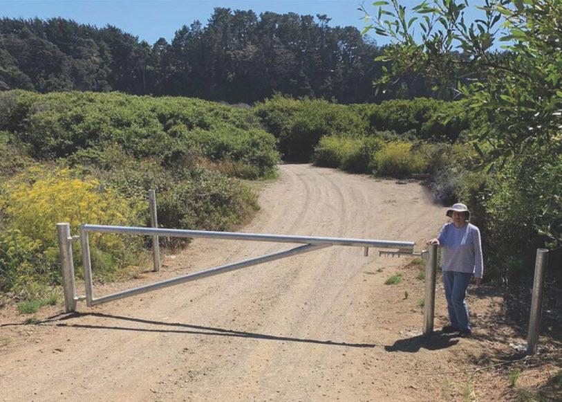 Mill Bend lower gate